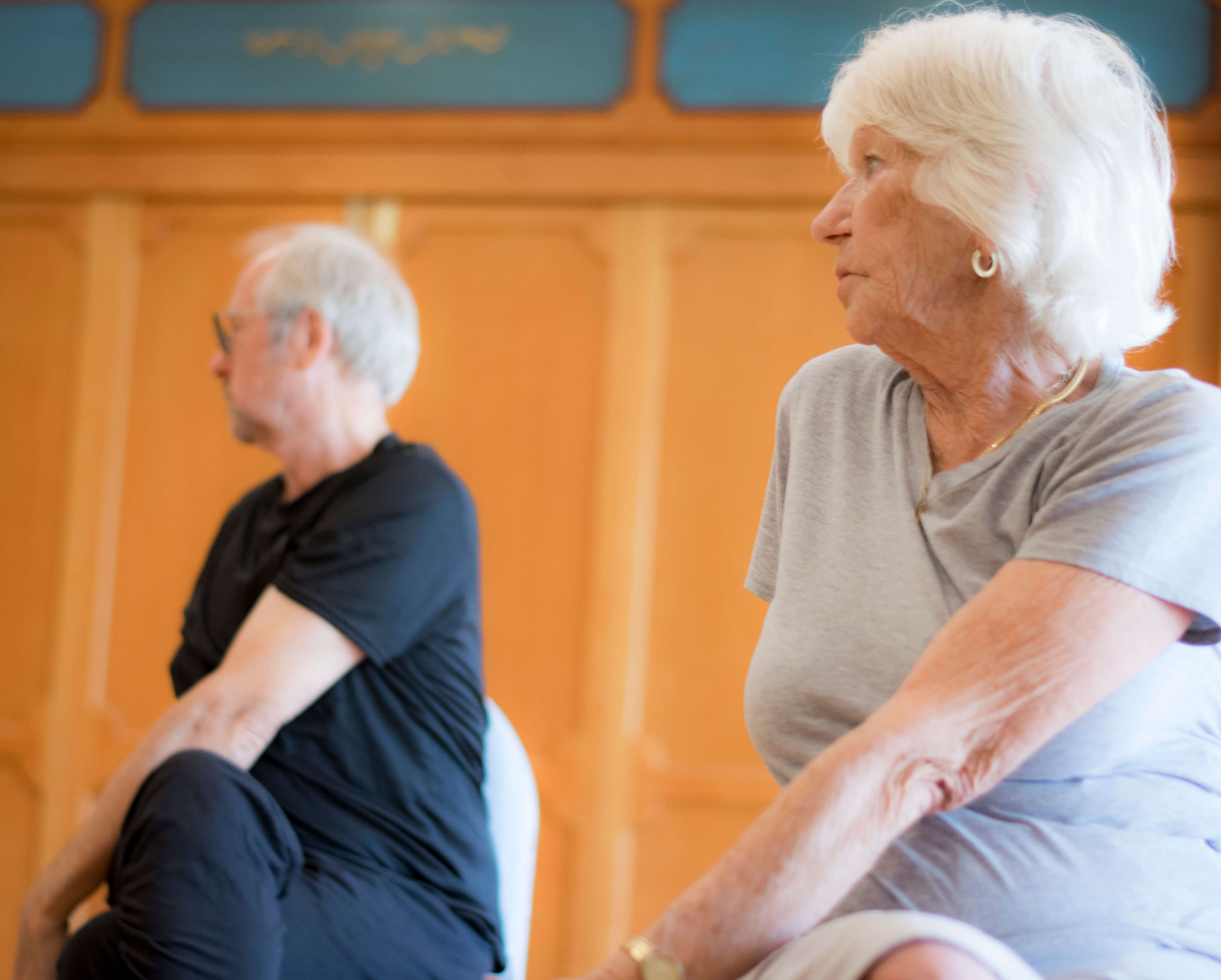 Stretching Exercises for Senior People
